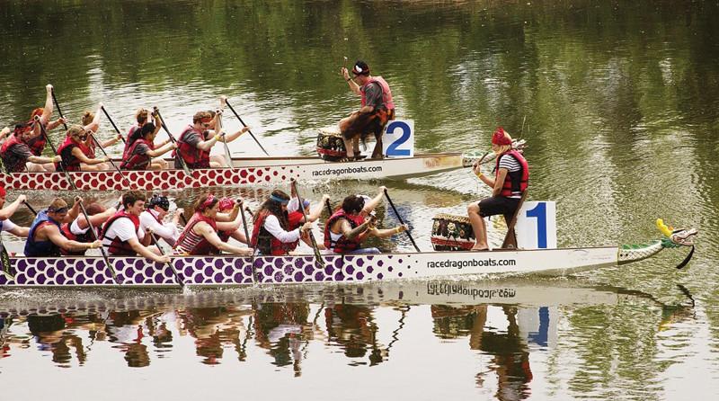 Dragon Boat Festival Rowing