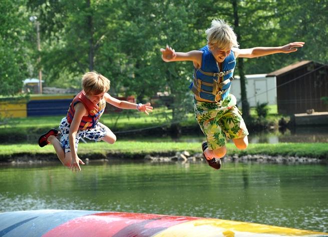 Kanakuk Kamp, summer camp, lake, water