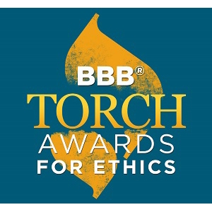 Better Business Bureau Announces Torch Award Winners
