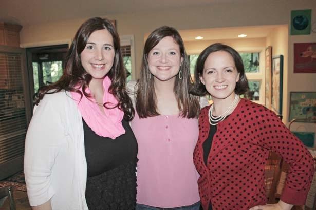 Terri Cross, Natalie Darnell, Jill Barham