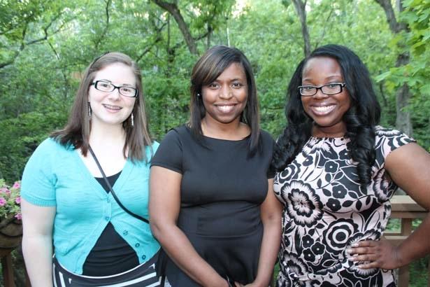Emily Powell, Kimberly Chandler, Jamie Scott