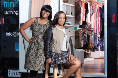 Fashion Entrepreneurs Erica Warren and Alexis Young Get Trinity Simone Rolling