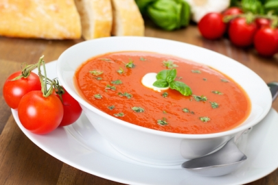 Recipe: Purple Cow's Zesty Tomato Soup