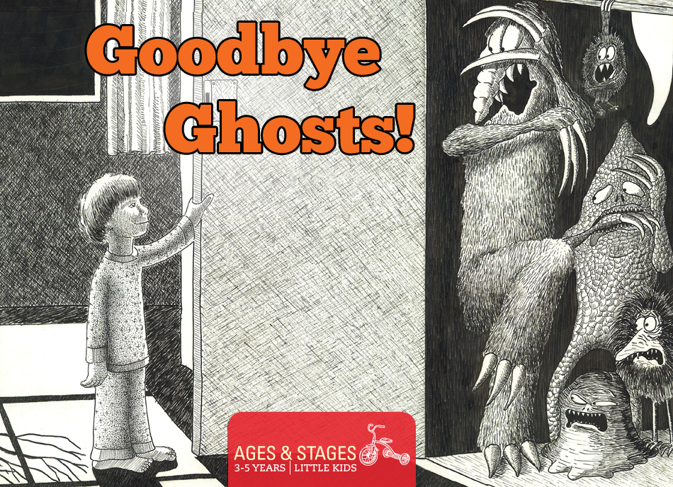 Goodbye Ghosts illustration