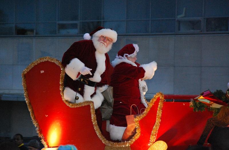 Big Jingle Jubilee Holiday Parade, Santa Claus, Christmas Parade