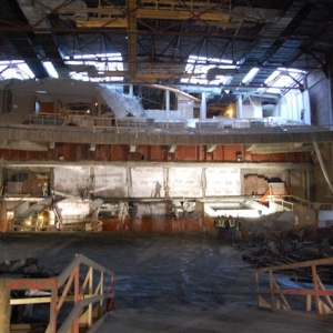 Photos: Inside the Ongoing Renovation of Robinson Center