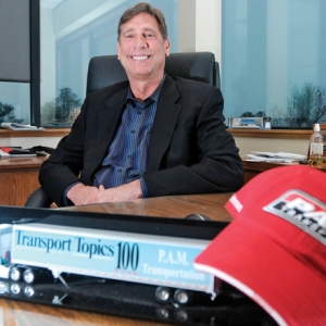 PAM Transport Reports Its Most Profitable 1Q Ever