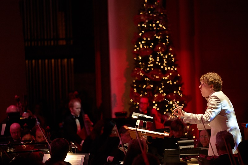 Arkansas Symphony Orchestra, Philip Mann, Swingin' Holiday Extravaganza