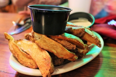 The Dish: Rose's Famous French Fries at The Faded Rose