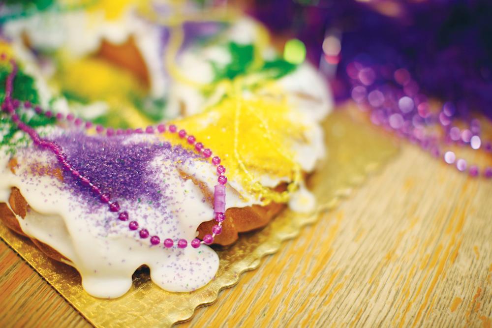 King Cake, Mardi Gras