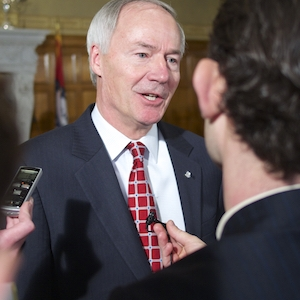 Asa Hutchinson Says He'd Sign Religious Protection Bill