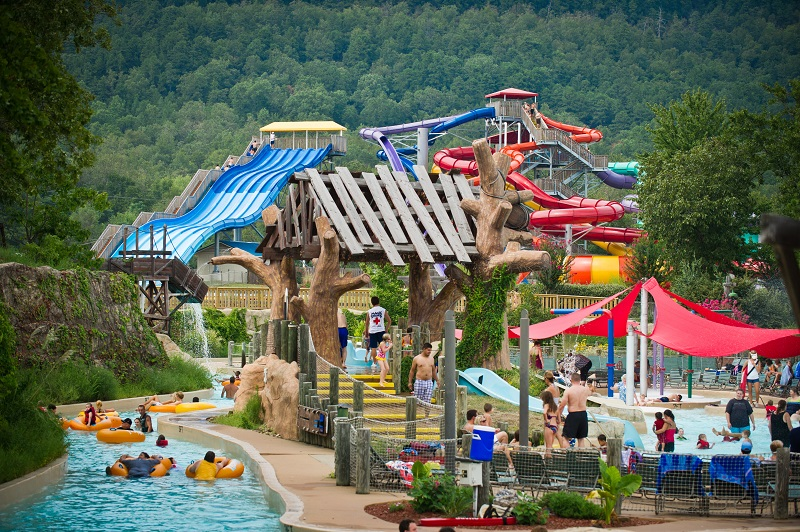 Magic Springs Water and Theme Park, Crystal Falls, water park