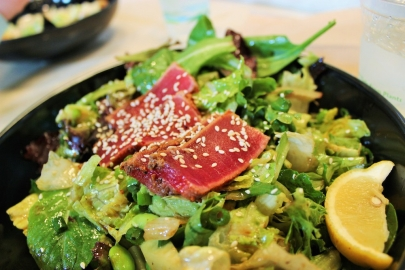 The Dish: Sesame Ahi Tuna Salad at ZaZa