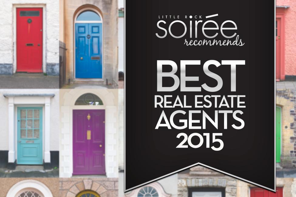 SOiree best real estate agents in LIttle Rock 2015 title