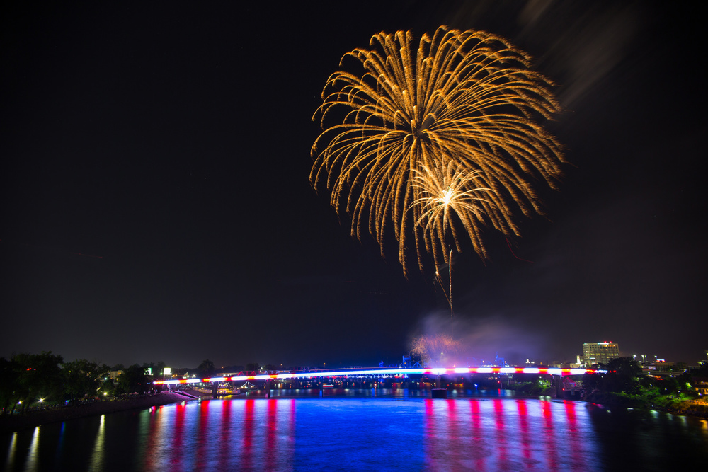 Pops on the River, Little Rock Fireworks