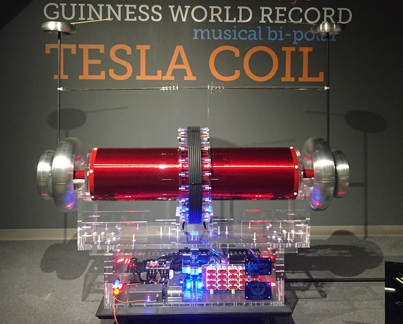 "Image result for ""museum of discovery"" ""tesla coil"""