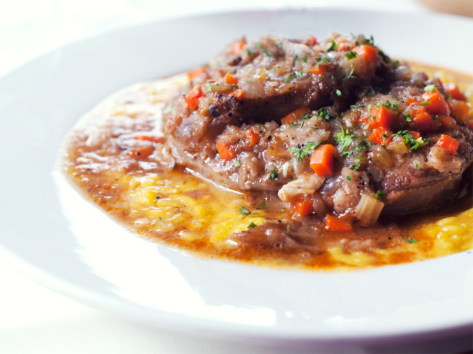 Veal osso buco Milanese at Ristorante Capeo 5 Best Bites in Downtown Little Rock and Argenta