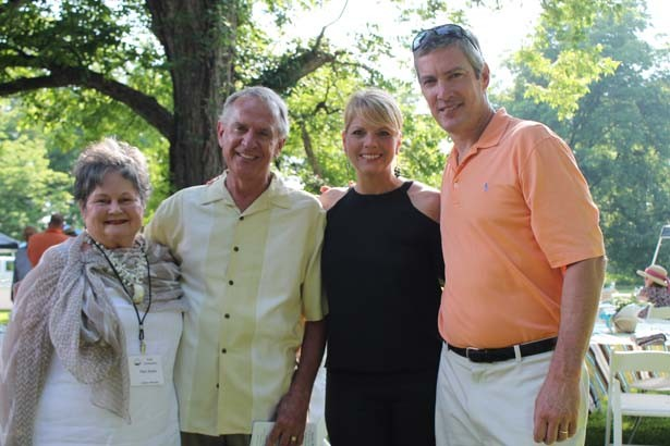 Pam and Bill Ryker, Angie and Greg Seaton
