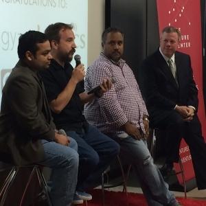 Tech Park, Venture Center Mark Companies' Move to Next Stage