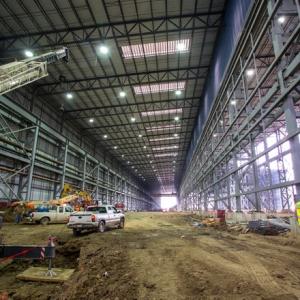 Big River Steel Mill Rises in Northeast Arkansas