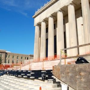Robinson Center Construction Progresses, Will Be Done Nov. 2016