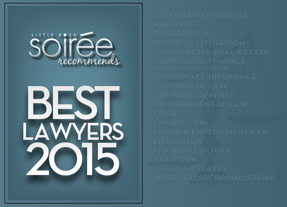 Soiree Best Lawyers 2015 title
