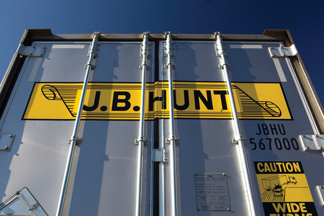 jb hunt bnsf request intermodal arbitration