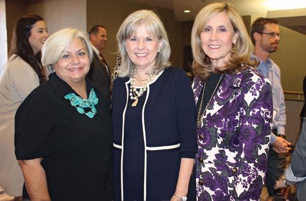 Marla Hunt, Jane Wayland, Shelia Vaught
