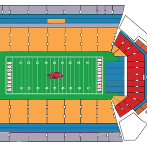 As Expected, Most Hog Football Tickets Going Up