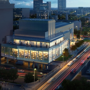 Robinson Center Adding Outdoor Terrace, Begins Booking Events