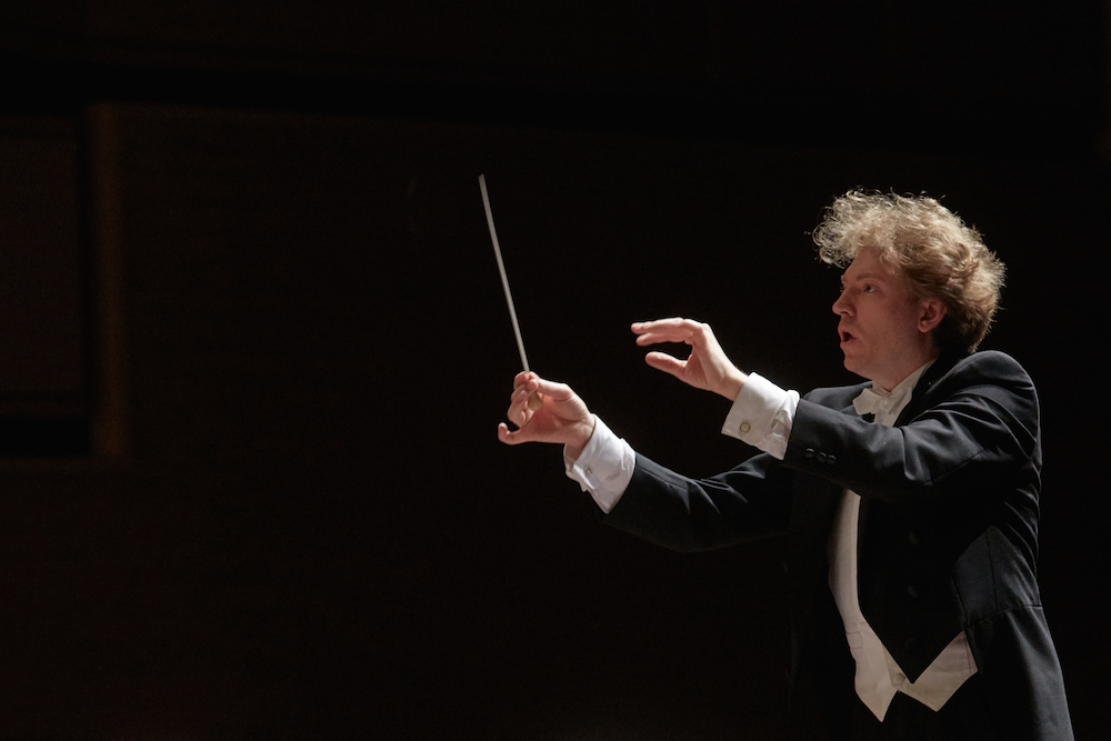 Philip Mann, conductor, ASO, Arkansas Symphony Orchestra