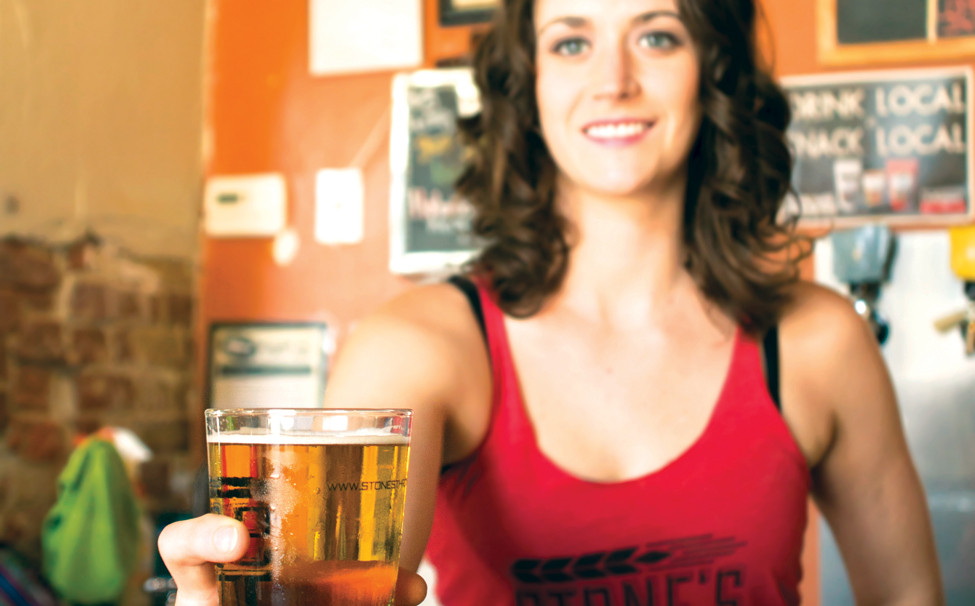 Little Rock Brewing Guide Stone's THrow