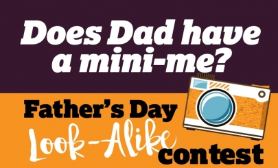 Enter Your Photo for Little Rock Family's Father's Day Look-Alike Contest!