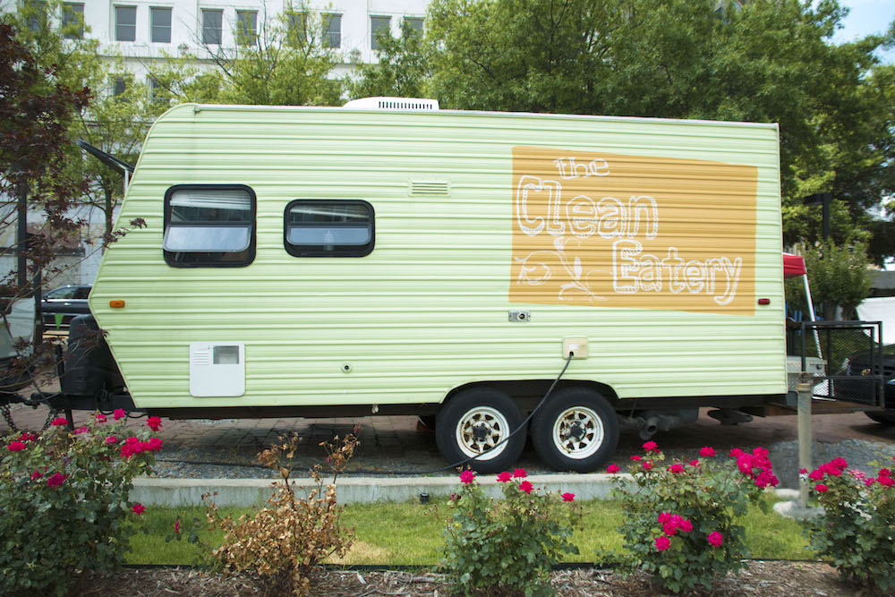 The Clean Eatery food truck