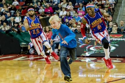Three Cheers for the Harlem Globetrotters' Pushing The Limits World Tour