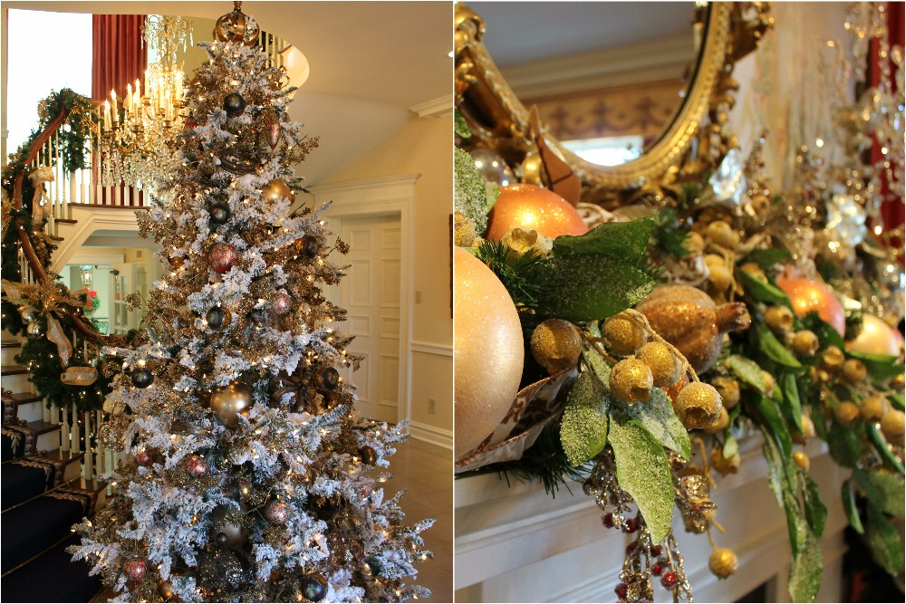 jess ardrey - Mansion Christmas Decorations