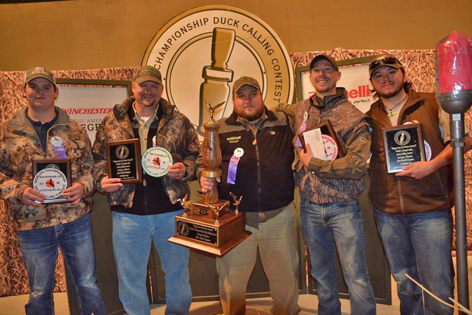 81st Annual World Duck Calling Contest Winners