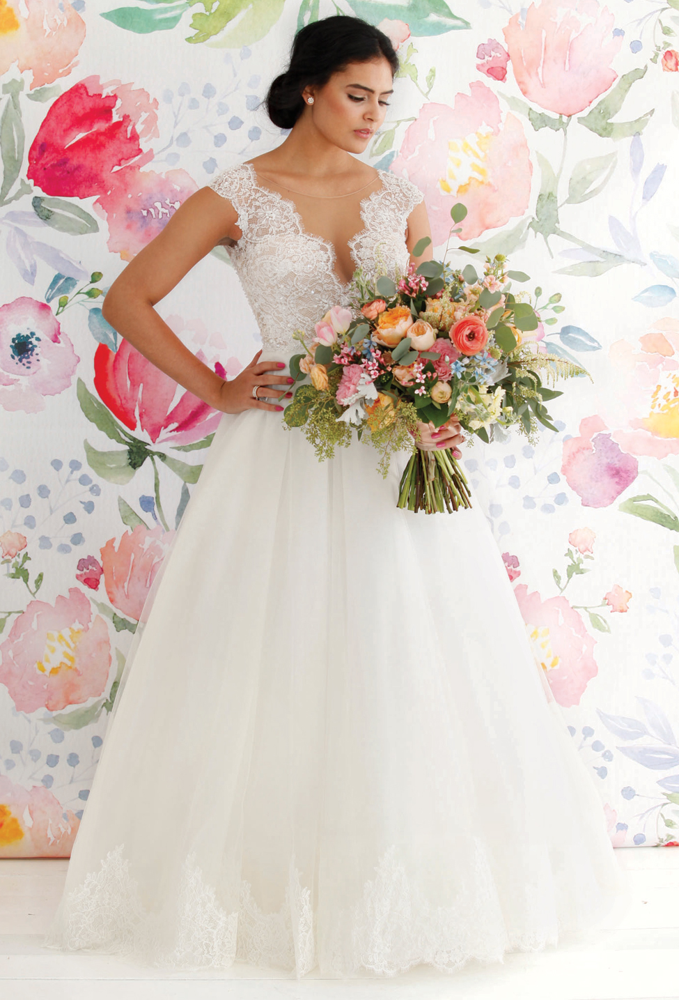 Love Abloom: Wedding Gowns & Accessories for the Spring/Summer Bride