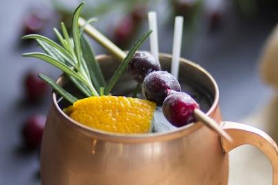 Sip This: Pomegranate Mule Recipe