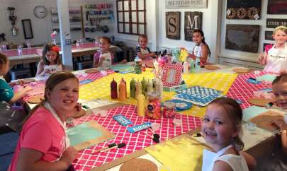 Board & Brush Gives Families a New Option for Birthday Parties