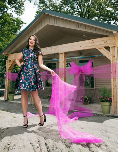 Jennifer Corbin Follows Father's Footsteps Through Habitat for Humanity
