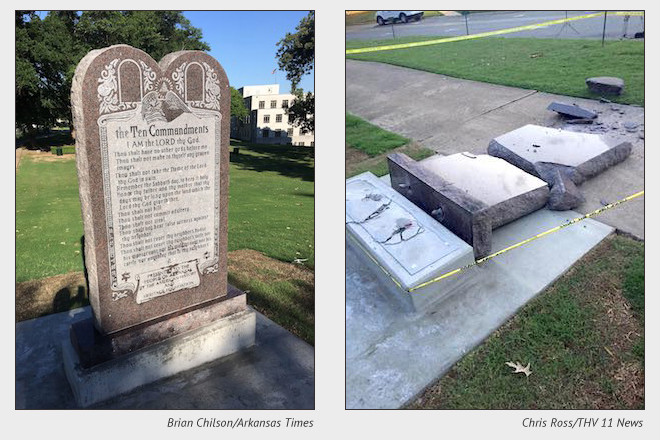 July Trial Set for Lawsuit Over Arkansas Ten Commandments