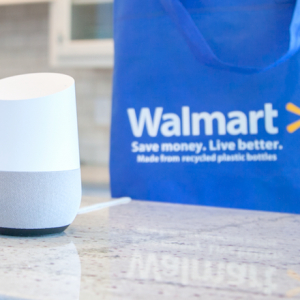 Hey Walmart! Retailer Gets with Google for Groceries Via Voice