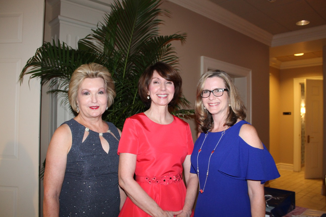 Susan Hutchinson, Lisenne Rockefeller and Elizabeth Pulley