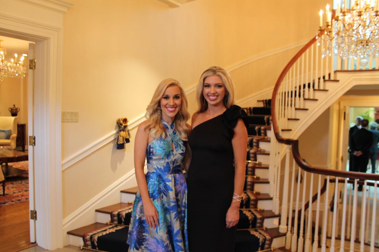 Anne Imanuel and Alisha Curtis