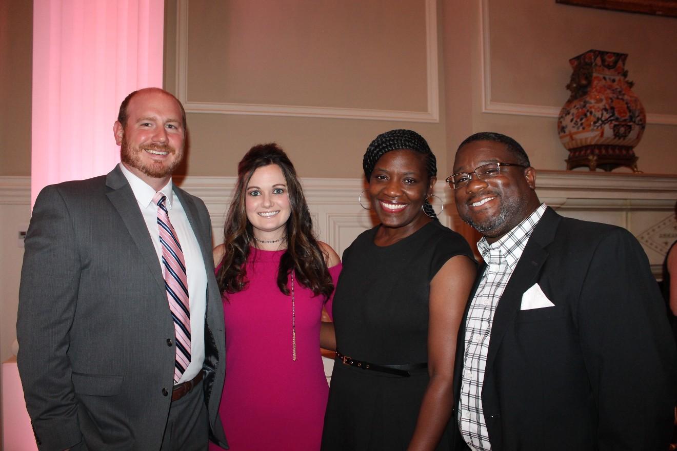 Jenna Recker, Kris Goldman, Quincy and Tamika Edwards