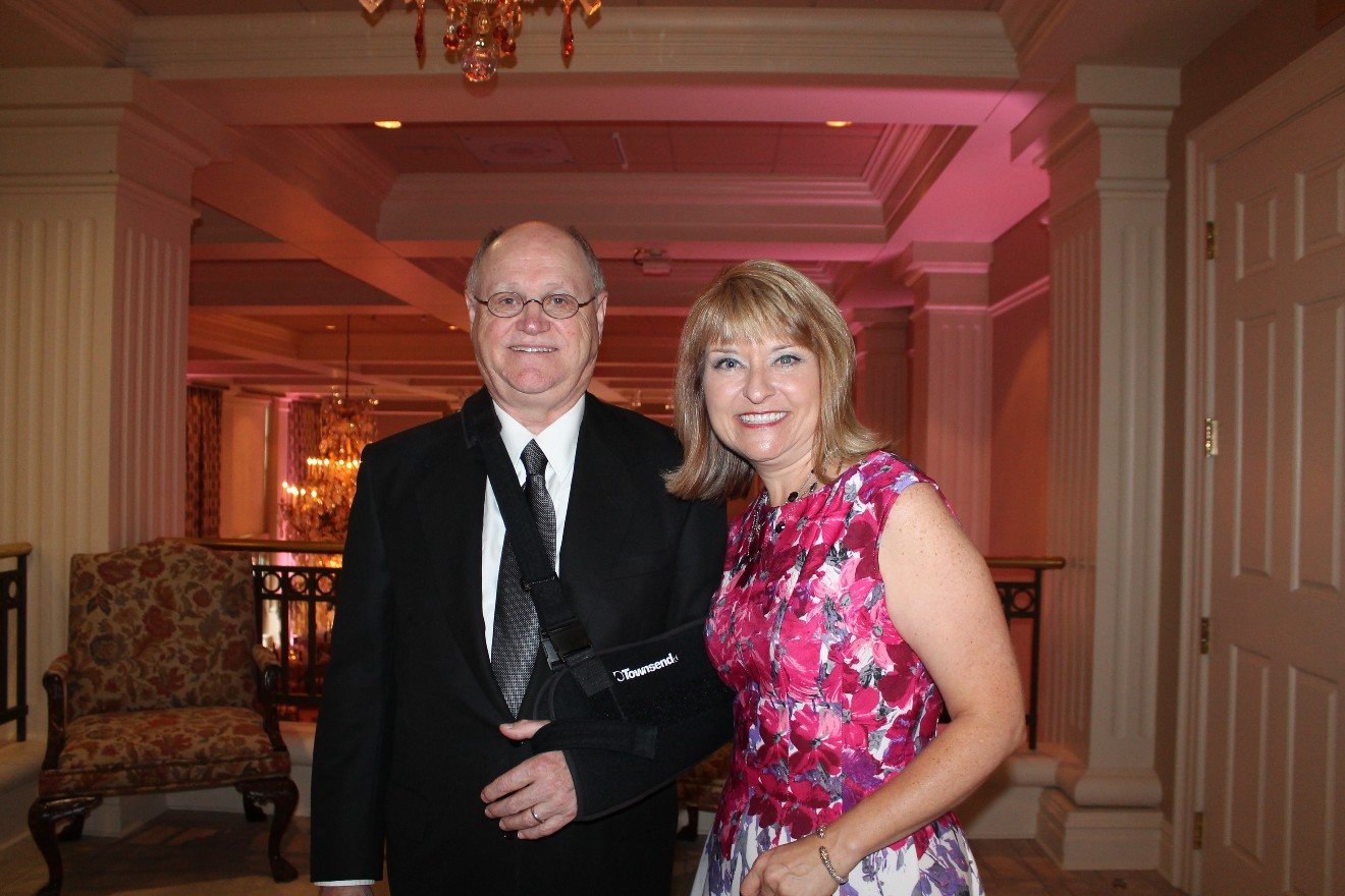 Stacy Thompson-Holifield and Larry Holifield