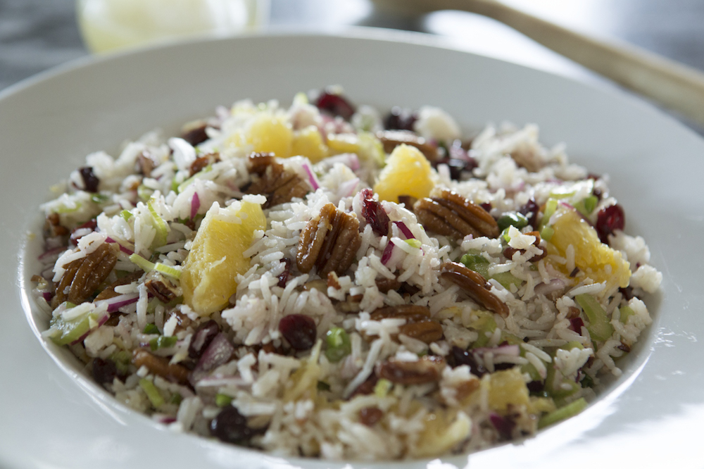 Recipe: Cranberry Pecan Rice Salad from P. Allen Smith