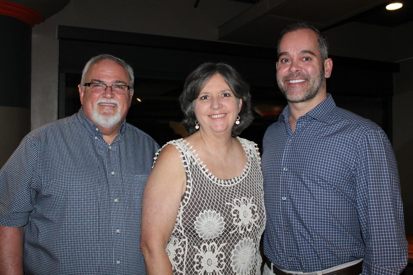 Andy and Myra Alton, Dr. Scott Hogan
