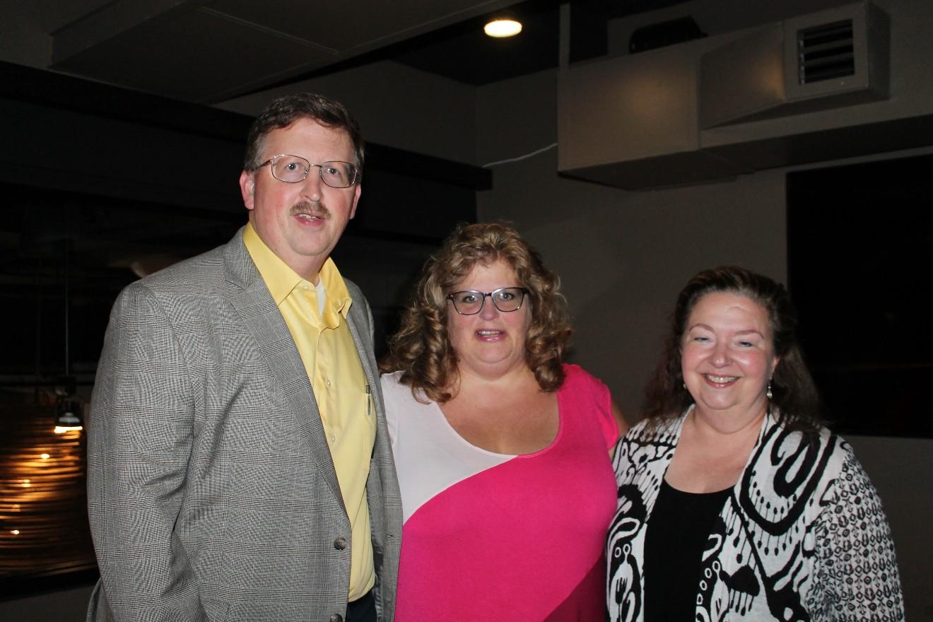 Criag and Alicia Gammon, Dr. Robin Hickerson